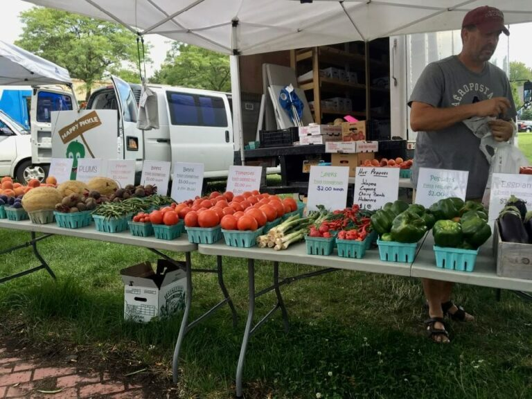 Vendor at South Wedge Farmers Market