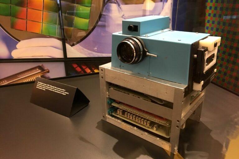 Kodak Camera on display