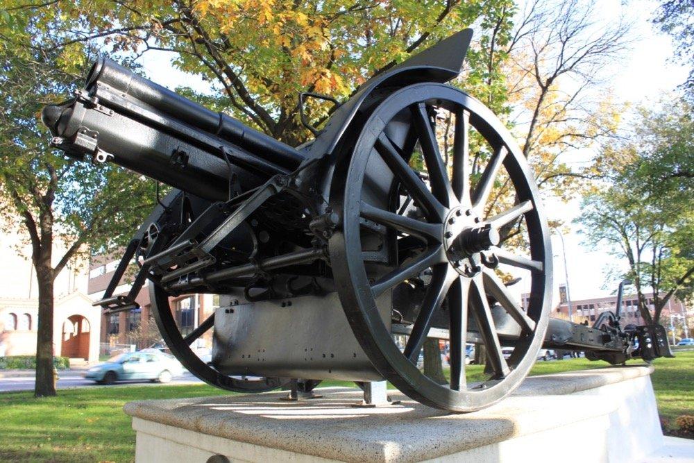 Austrian Cannon in Washington Square