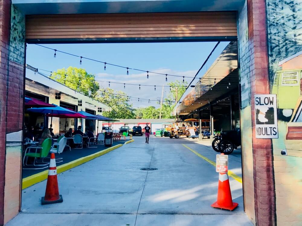 entrance to roc beer park