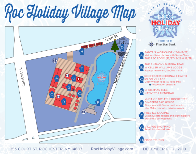 Map of ROC Holiday Village