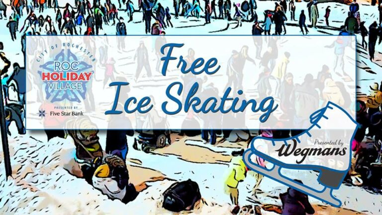 Free Ice Skating graphic