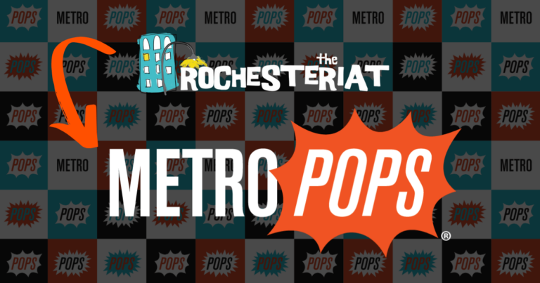 MetroPops transition Rochesteriat Graphic