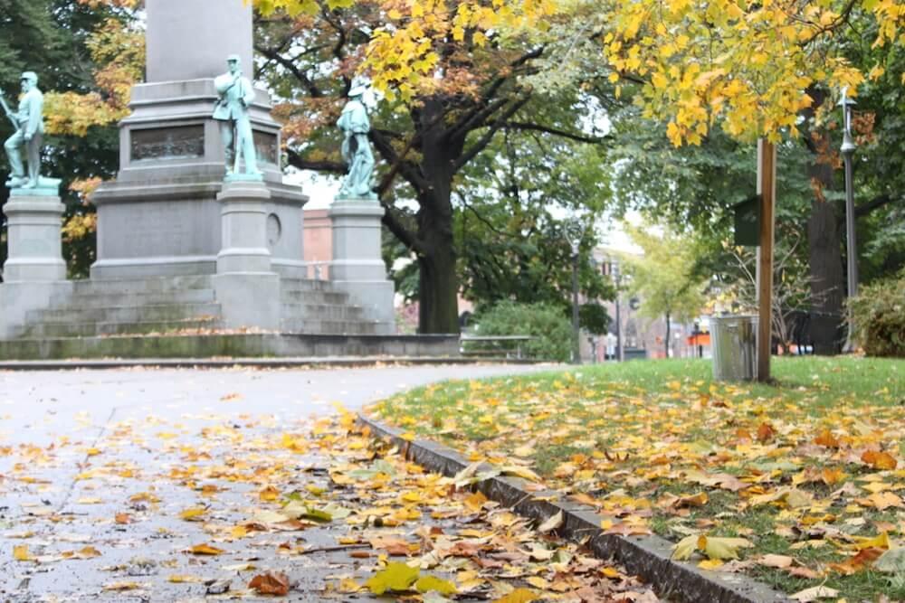 Autumn in the Washington Square Rochester, NY