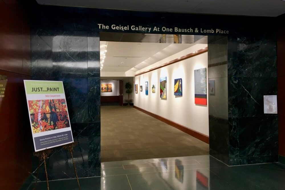 Entrance to the Geisel Gallery