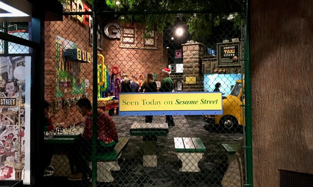 Sesame Street play area