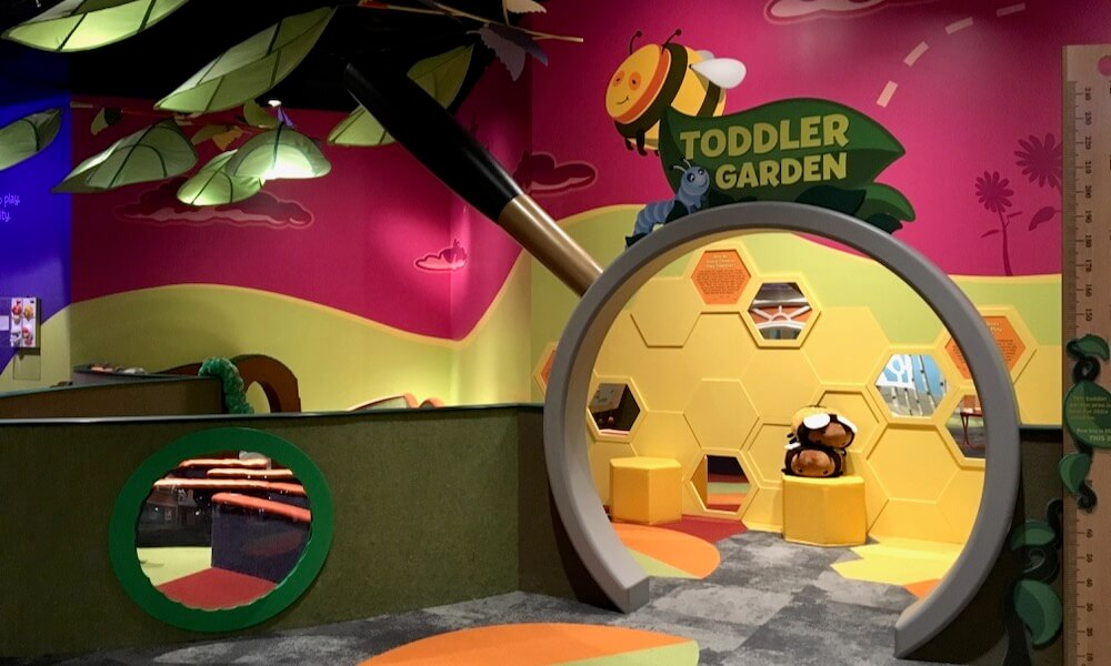 Toddler Garden play area at Strong