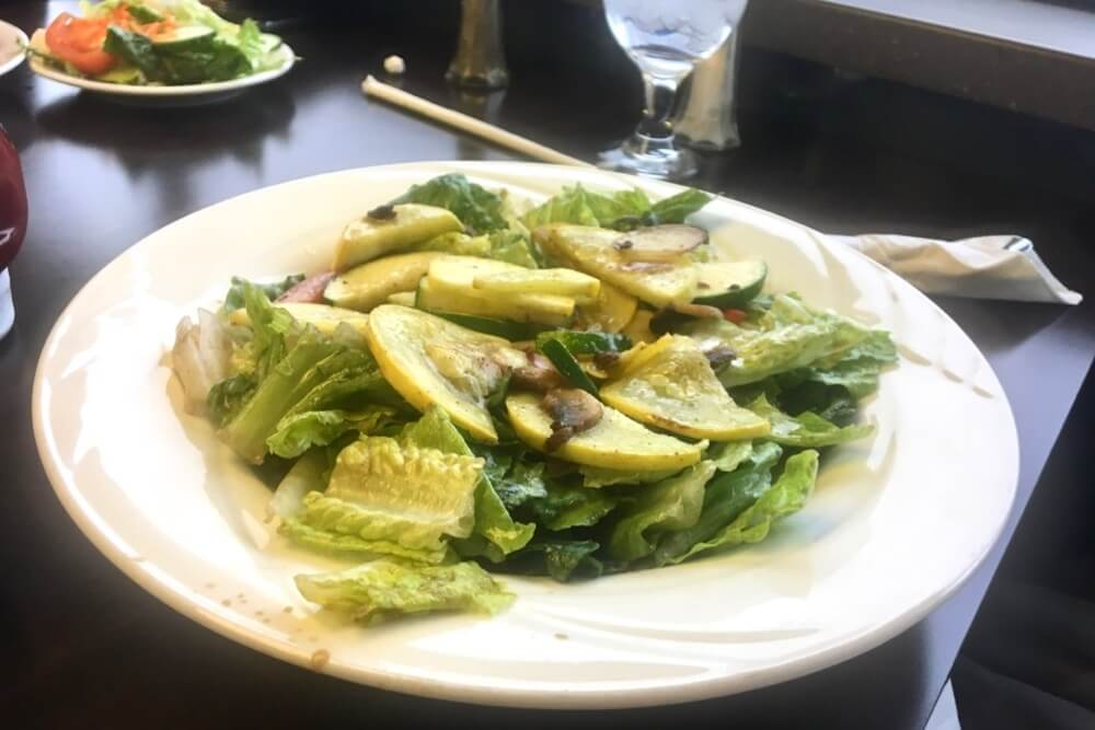 The Sizzling Salad
