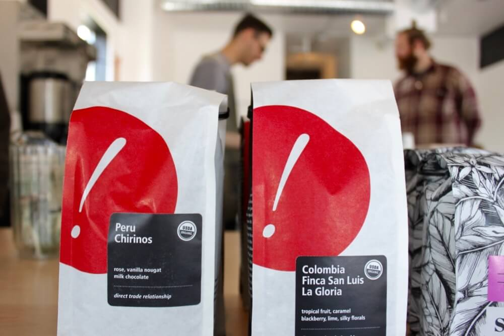 Retail coffee bags for sale