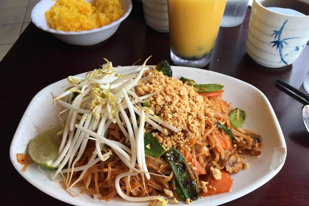 Vegetarian Phat Thai