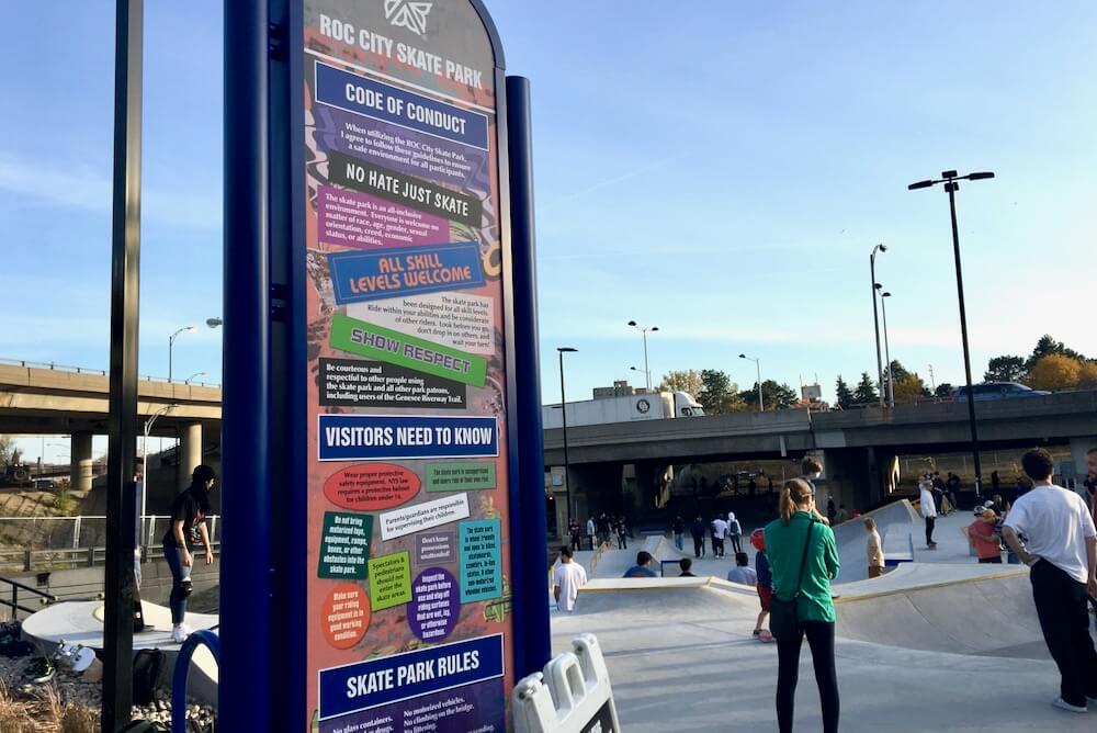 Roc City Skate Park Rules